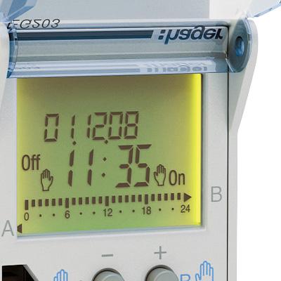 Horloge astronomique for Programmateur eclairage exterieur